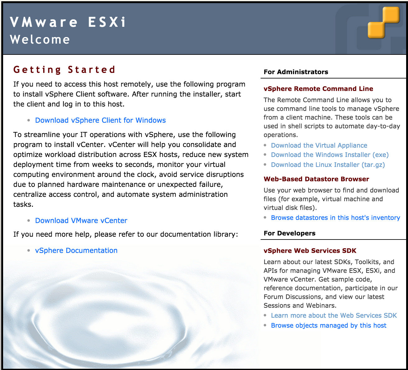 Getting Started with vSphere EXSi — The Missing Tutorial